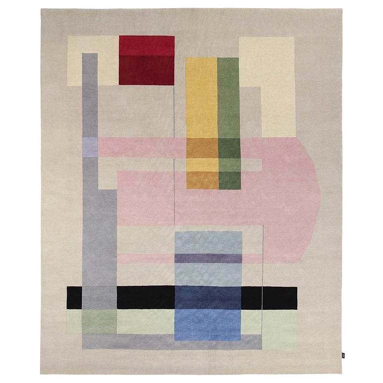 Composizione 57 12 Carpet by Manlio Rho For Sale