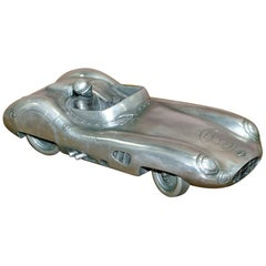 Compulsion Gallery Pewter Large Aston Martin DBR1 Car Model 1959 Le Mans Racing