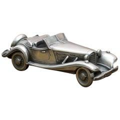 Compulsion Gallery Pewter Medium 1939 Mercedes Benz 540K Special Roadster Car