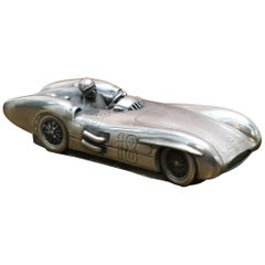 Compulsion Gallery Pewter Mercedes Benz W196 300SLR 1954-55 Racing Car Small