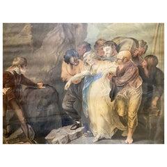 COMTE Jacques Louis, vers 1781 - après 1843 'Le sauvetage de Gala'