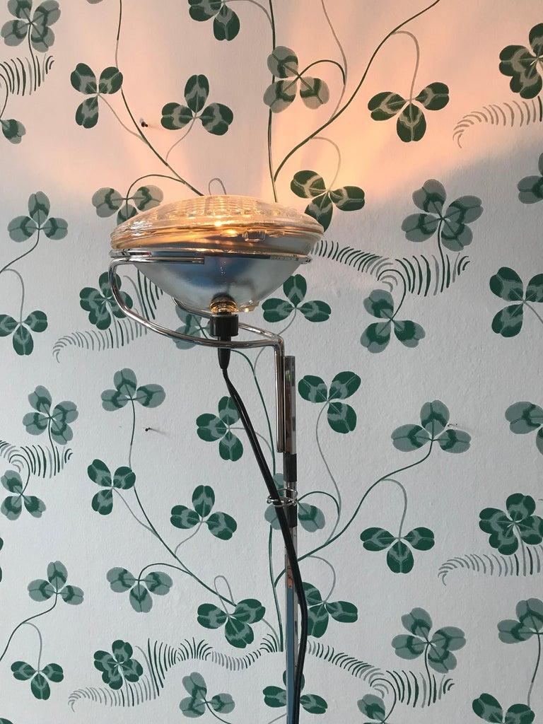 Italian Comtemporary Flos Toio Steel Floor Lamp by Achille & Pier Giacomo Castiglioni For Sale