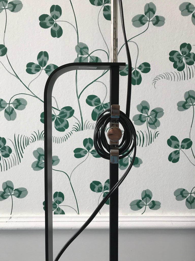 Mid-20th Century Comtemporary Flos Toio Steel Floor Lamp by Achille & Pier Giacomo Castiglioni For Sale