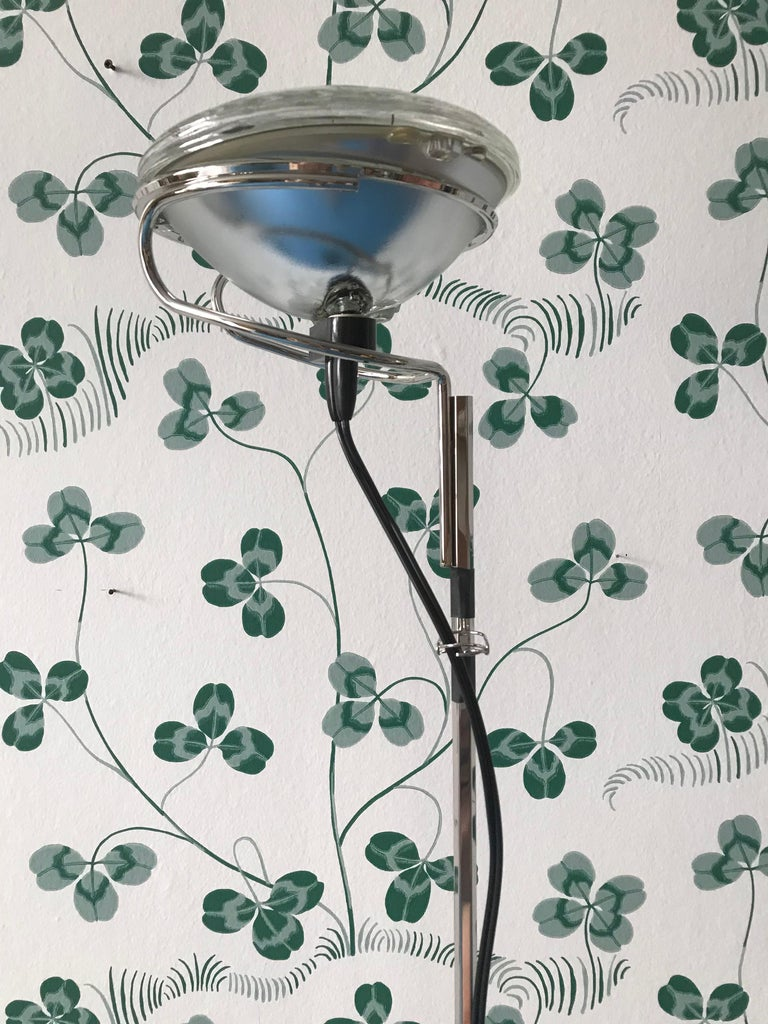 Comtemporary Flos Toio Steel Floor Lamp by Achille & Pier Giacomo Castiglioni For Sale 2