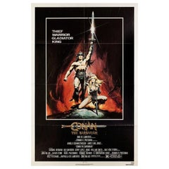 Conan the Barbarian 1982 US One Sheet Film Poster