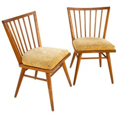 Conant Ball Mid Century Posted Chair, Pair