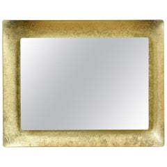 Concave 549 Gold Wall Mirror