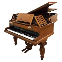 Concert Grand Piano Alfred Waterhouse Arts &Crafts Aesthetic Movement Romanesque