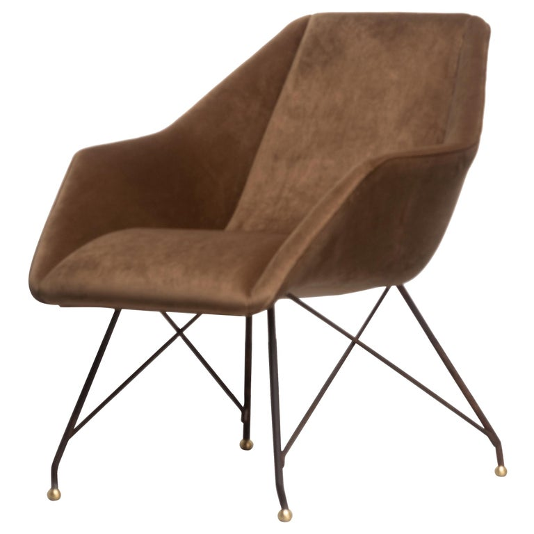 'Concha' Armchairs, Martin Eisler and Carlo Hauner, Modern Brazilian Design 1955 For Sale