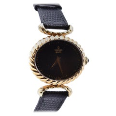 Concord 14 Karat Yellow Gold Oval Watch