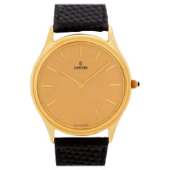Concord Classic 2021215, Gold Dial, Certified and Warranty
