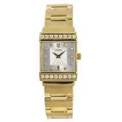 Concord Crystale 51.C1.1431 Women's Quartz Watch 0.64 Carat 18 Karat Yellow Gold