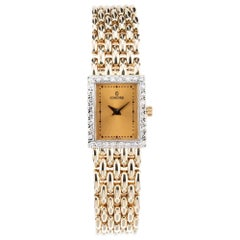 Concord Diamond Yellow Gold Ladies Panther Link Wristwatch