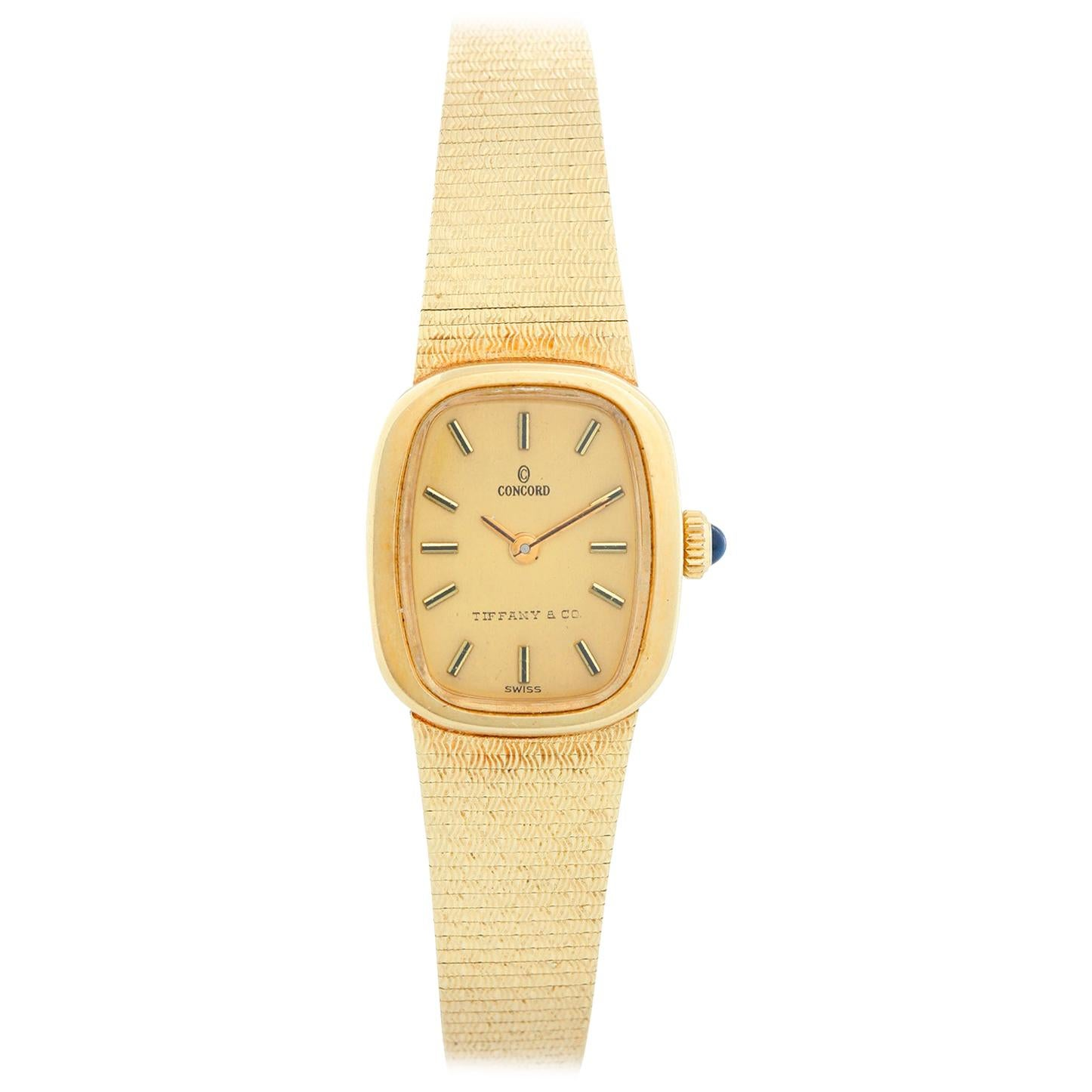 Concord for Tiffany & Co. Yellow Gold Ladies Watch