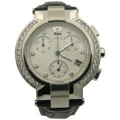 Concord La Scala Black Diamond Bezel Watch