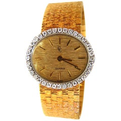 Concord Ladies Diamond Watch 18 Karat