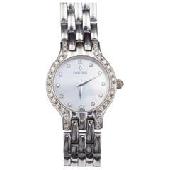 Concord Le Palais Mother of Pearl and Diamond Watch