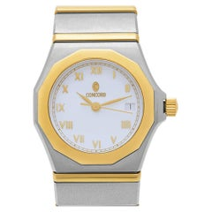 Concord Mariner 15.57.1500, White Dial, Certified and Warranty