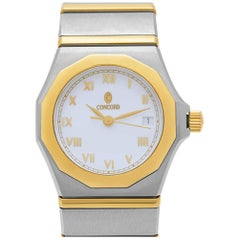 Concord Mariner 15.57.1500, Silver Dial, Certified and Warranty
