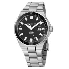 Concord Mariner 05.1.14.1140, Black Dial Certified Authentic
