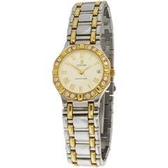 Concord Saratoga 18 Karat Yellow and Steel Diamond Bezel Watch 15 73 287