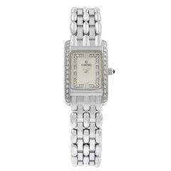Concord Veneto MOP 18 Karat Gold Diamond Quartz Ladies Cream Watch 61-25-680