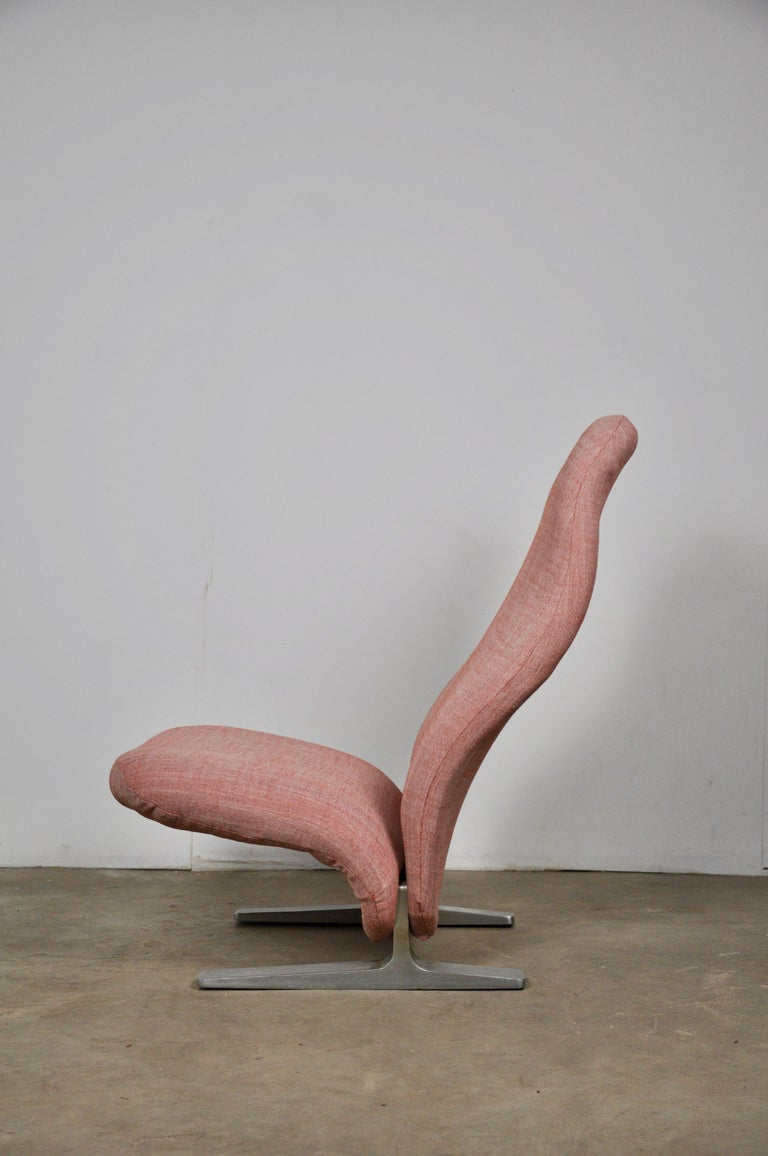 Concorde Lounge Chair by Pierre Paulin for Artifort, 1960s In Good Condition For Sale In Lasne, BE