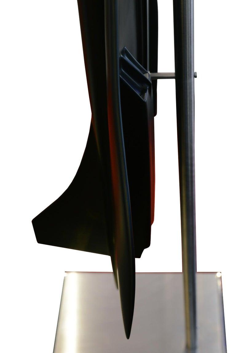 Concorde Model Black Sculpture For Sale 7