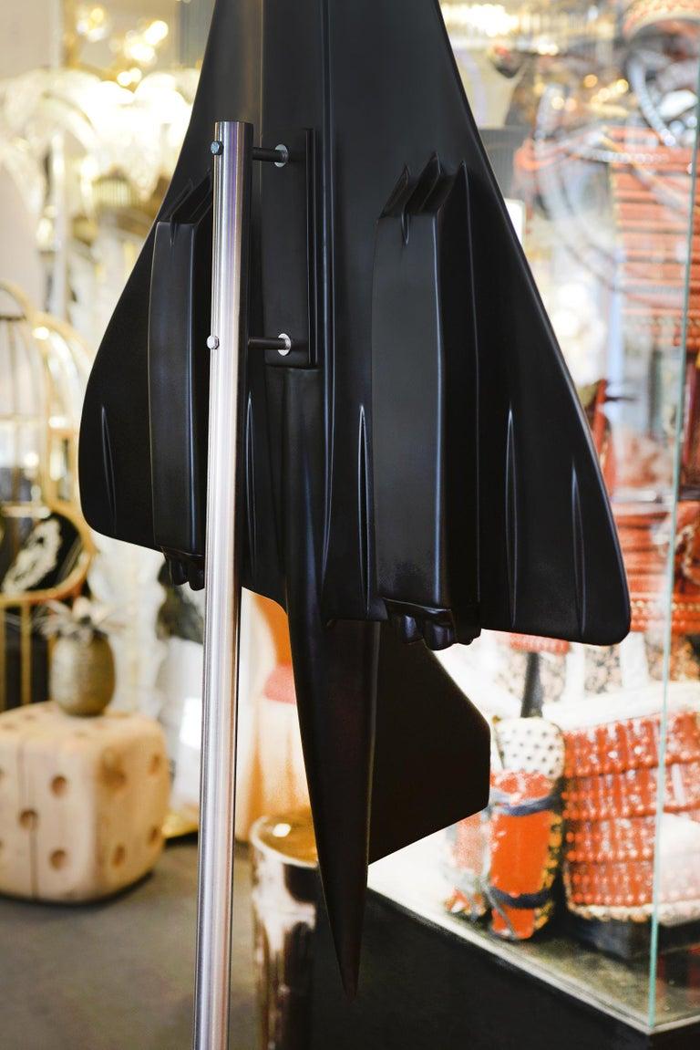 Concorde Model Black Sculpture For Sale 8