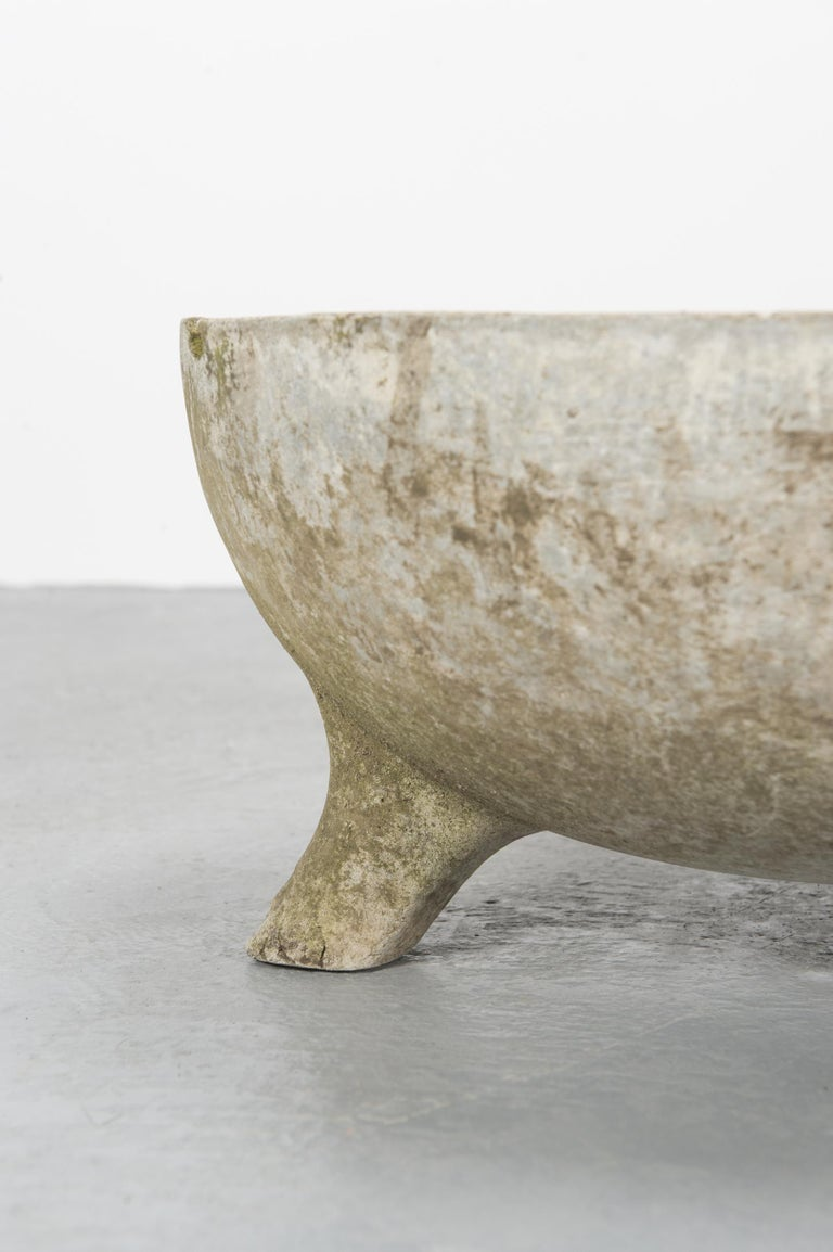 Concrete Bowl Planters by Willy Guhl for Eternit For Sale 4