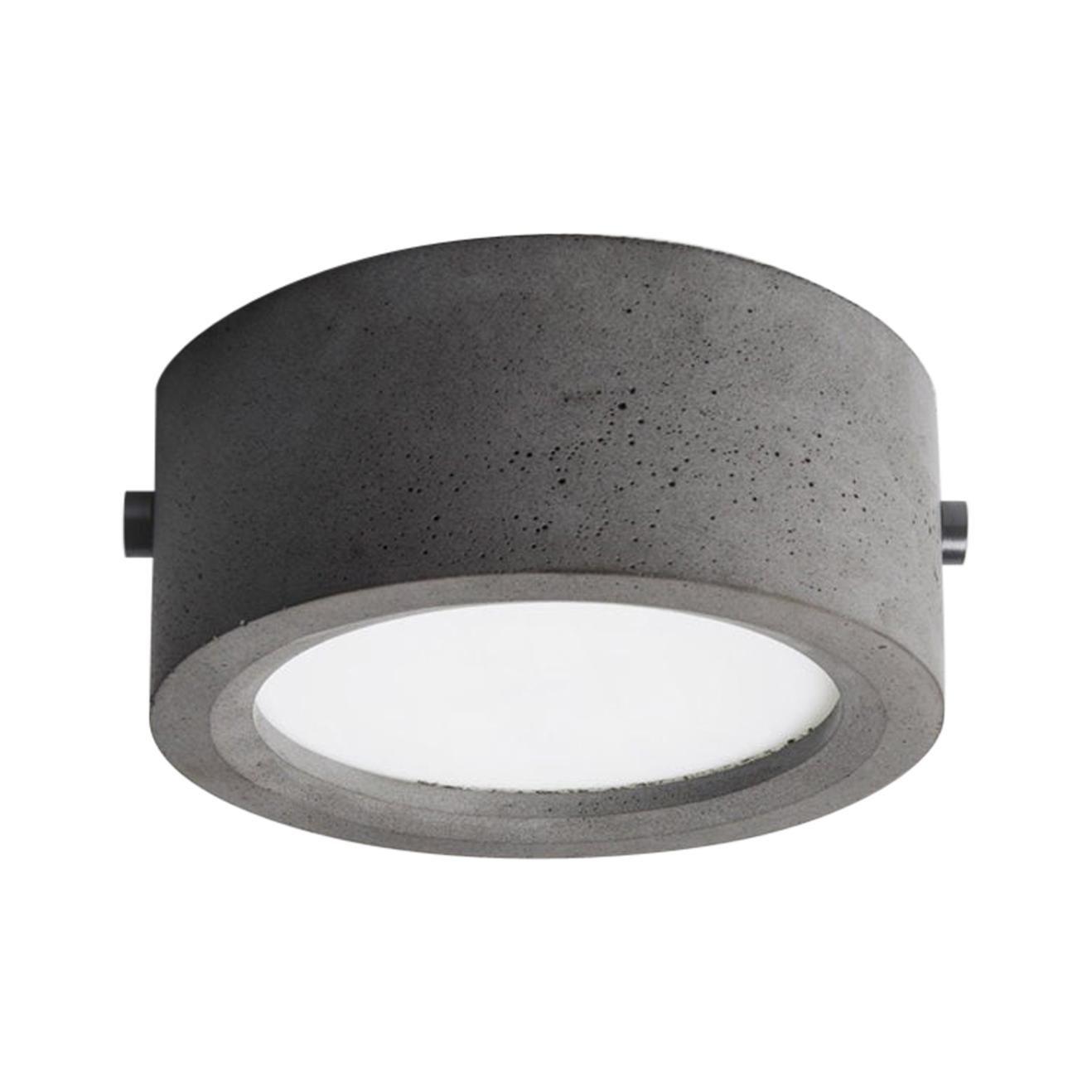 Concrete Ceiling Light 'Huan' 'Small'