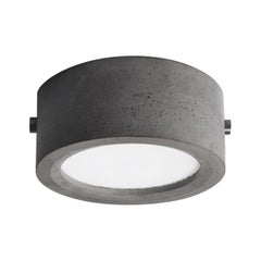 Concrete Ceiling Light 'Huan' 'Small'