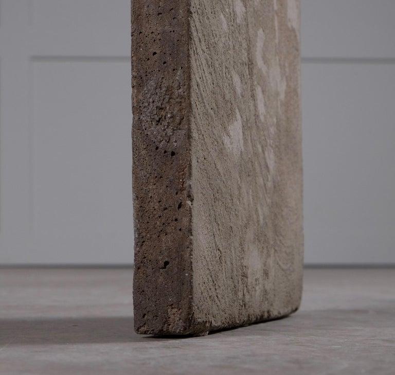 Concrete Chair Jonas Bohlin, Sweden, 1980s For Sale 4