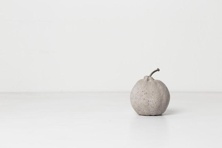 Brazilian Concrete Fruits (set), CONTEMPORARY SCULPTURES IN CONCRETE For Sale