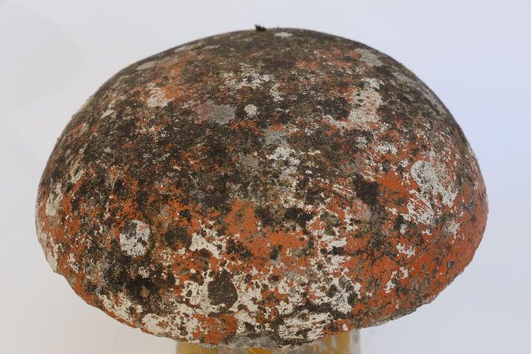 Concrete Garden Mushroom In Good Condition For Sale In Houston, TX