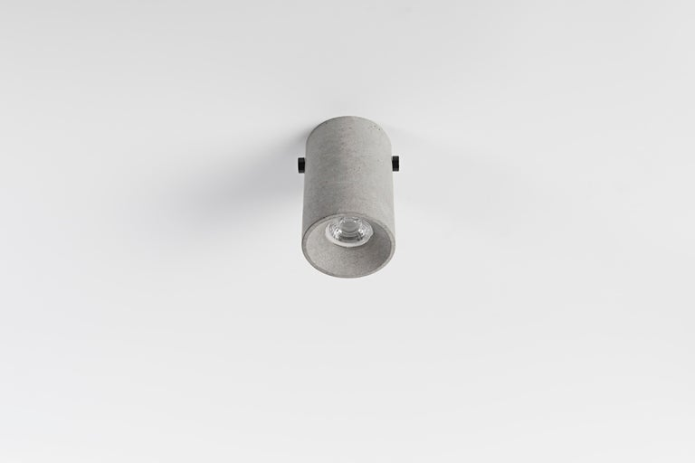 Concrete Lighting 'LV' Ceiling Light In New Condition For Sale In Paris, FR