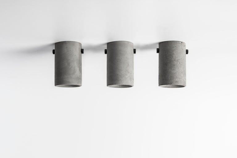 Chinese Concrete Lighting 'LV' Ceiling Light For Sale