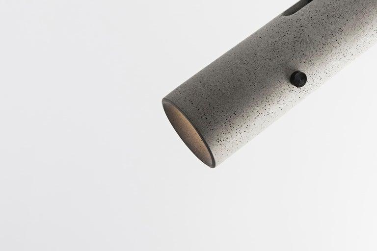 Chinese Concrete Lighting 'LV' Spotlight For Sale