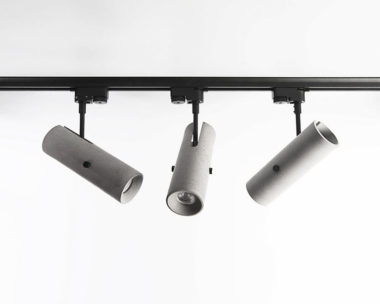 Concrete Lighting 'LV' Spotlight In New Condition For Sale In Paris, FR