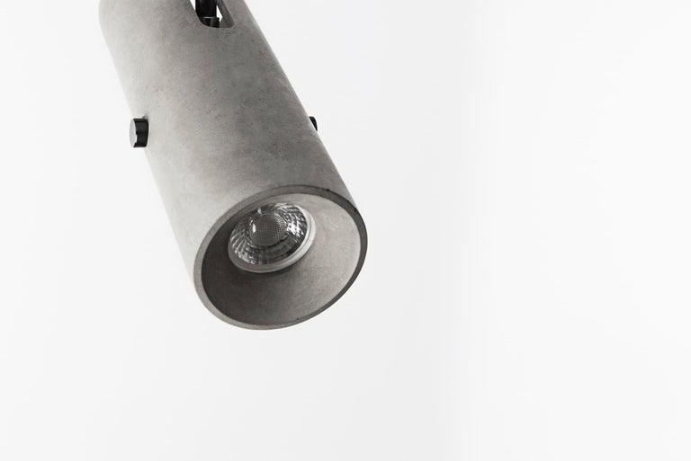 Concrete Lighting 'LV' Spotlight For Sale 1
