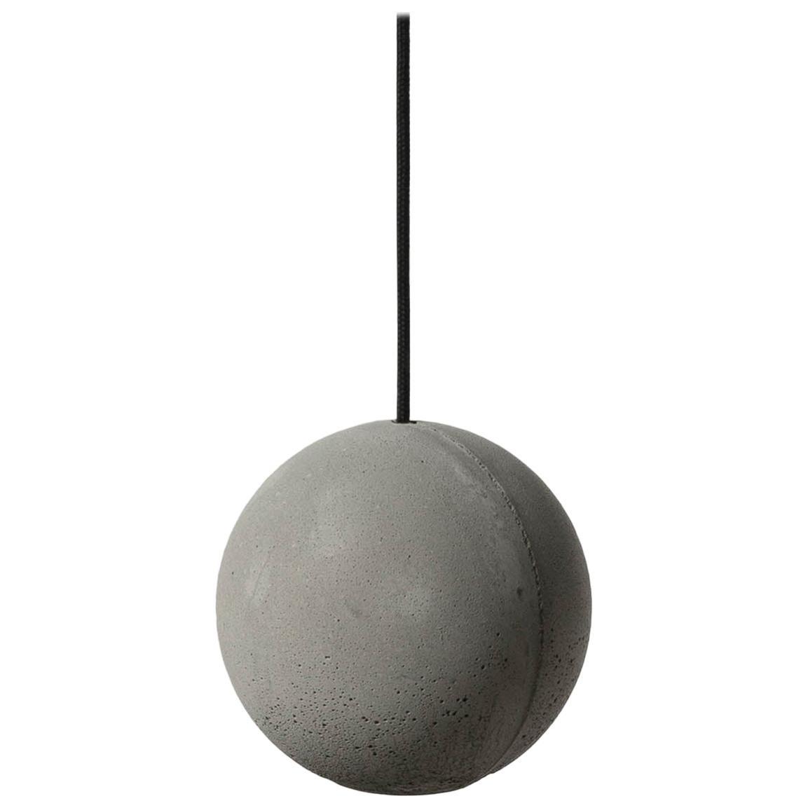 Concrete Pendant Lamp 'Moon S' by Bentu Design