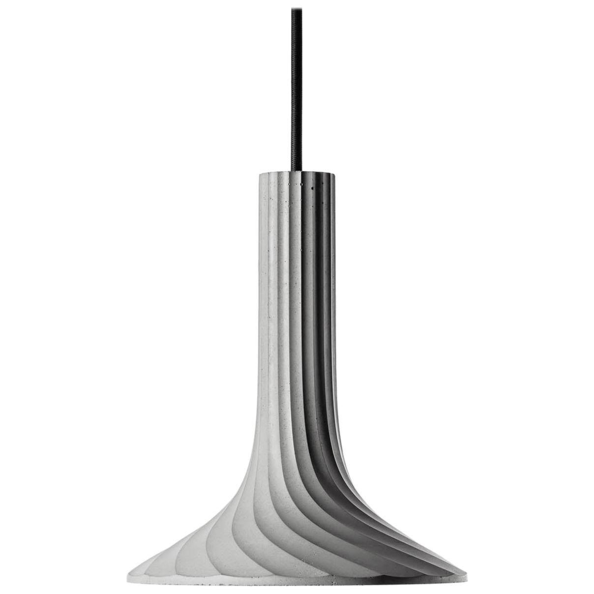 Concrete Pendant Lamp 'Xuan' by Bentu Design