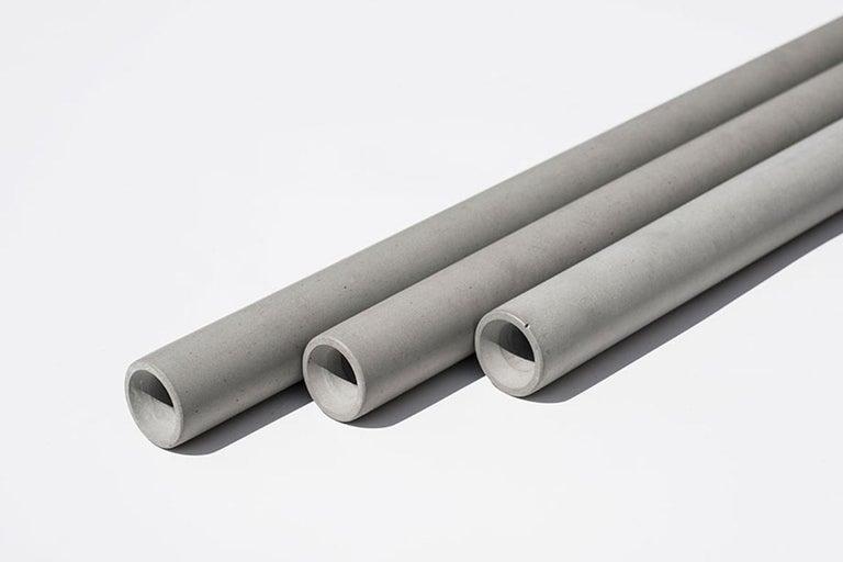 Industrial Concrete Pendant Lamps 'Bang II' by Bentu Design For Sale