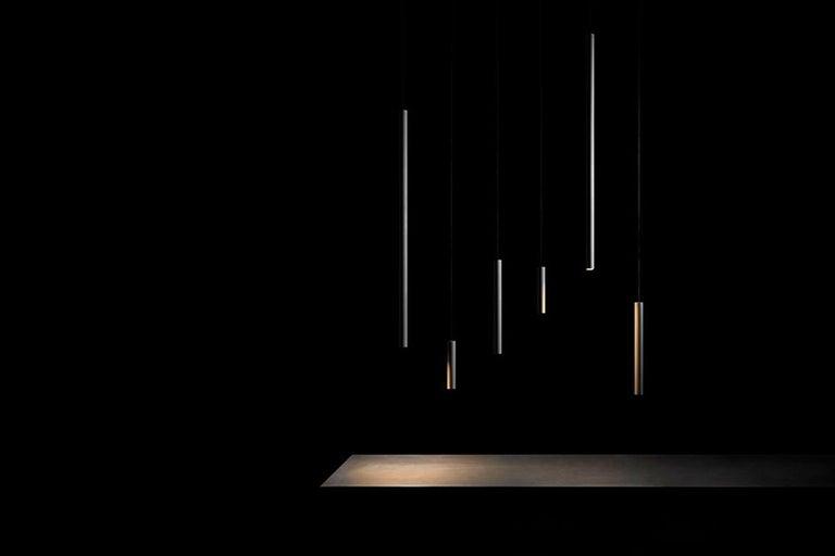 Contemporary Concrete Pendant Lamps 'Bang II' by Bentu Design For Sale