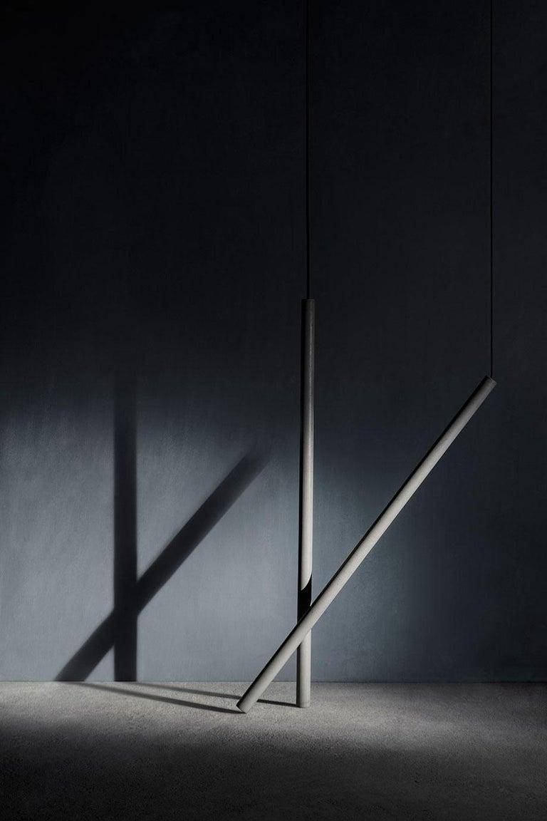 Concrete Pendant Lamps 'Bang II' by Bentu Design For Sale 1