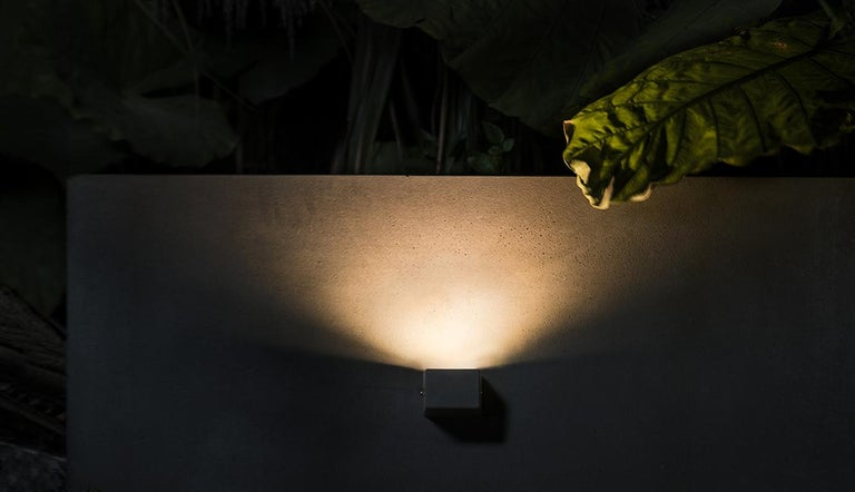 Industrial Concrete Wall Lamp or Outdoor Lighting 'D' '3 sizes available' For Sale