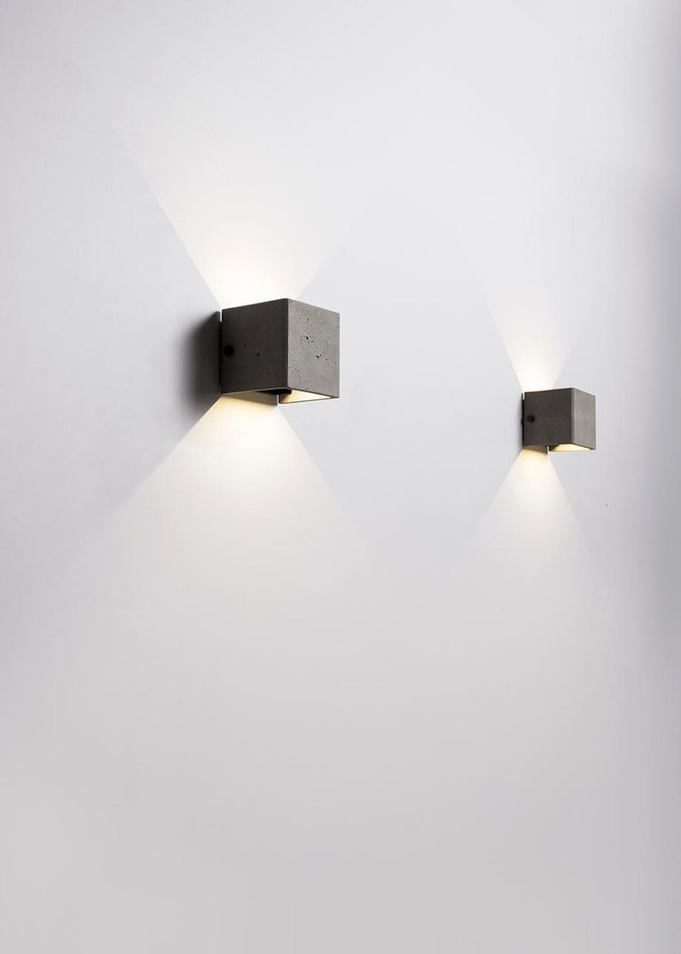 Chinese Concrete Wall Lamp / Sconce / Outdoor Lighting 'V' For Sale