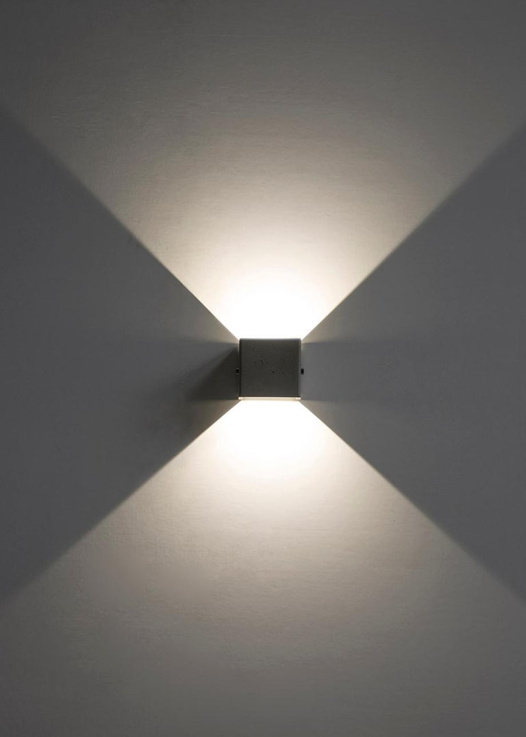 Concrete Wall Lamp / Sconce / Outdoor Lighting 'V' In Excellent Condition For Sale In Paris, FR