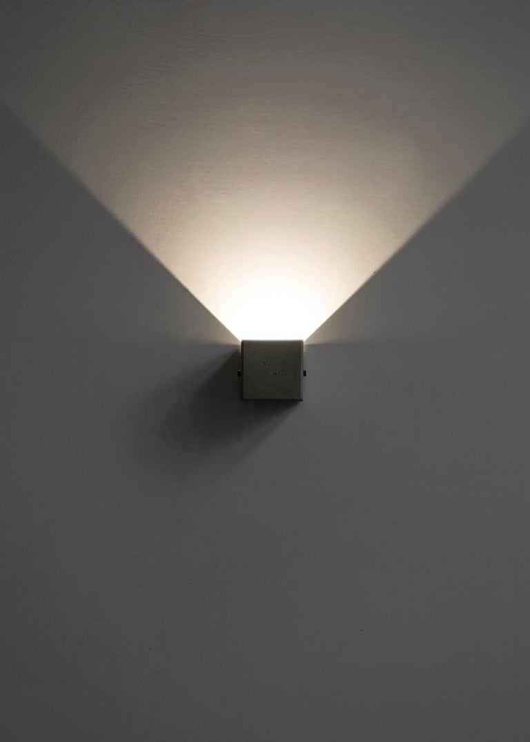 Concrete Wall Lamp / Sconce / Outdoor Lighting 'V' For Sale 2