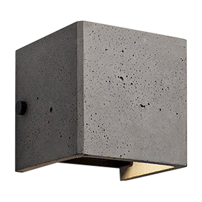 Concrete Wall Lamp / Sconce / Outdoor Lighting 'V' For Sale